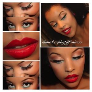 Makeup by @makeupbytiffaninco
