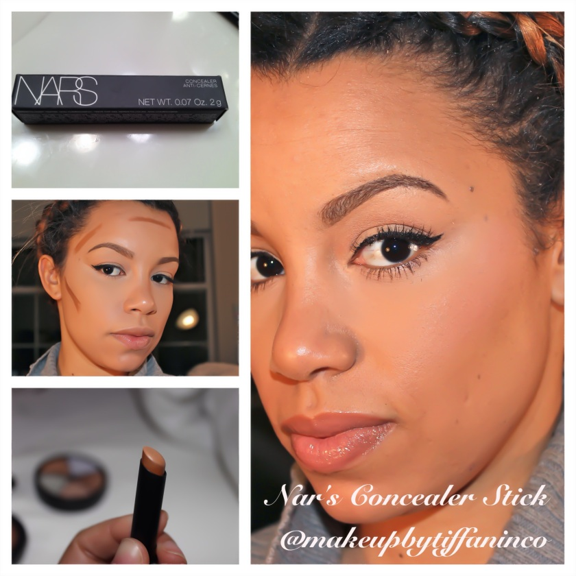 While in Sephora the other day I came across a concealer stick by Nars. I figured this product would be an easier method to contouring my face, especially when I'm on the go and don't have time to use my LWCC wheel. However I must say that the results when using the LWCC wheel under my foundation is flawless and amazing! Also, at times while using Blunt from Mac I find it difficult to get the exact contour line I desire on the hollows of my cheeks.