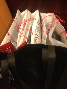 More goodie bags...